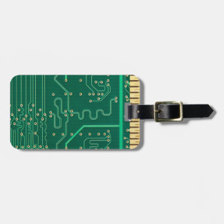 Computer memory plate tag for luggage