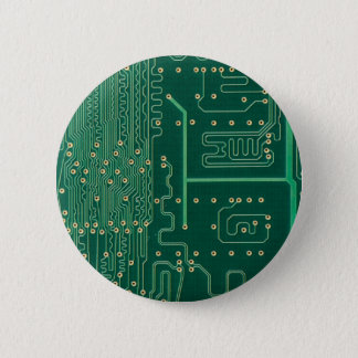 Computer memory plate pinback button