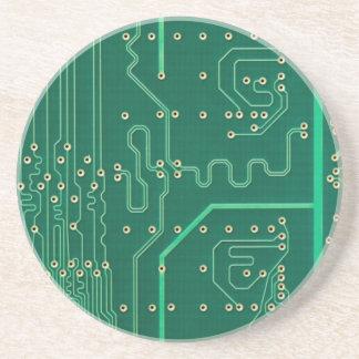Computer memory plate sandstone coaster