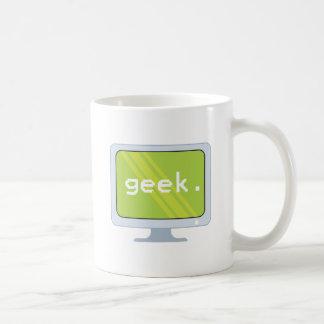 computer monitor geek text coffee mug