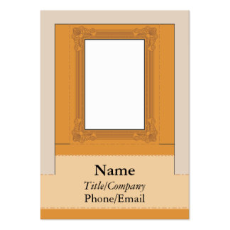 Computer Monitor Picture Frame Large Business Cards (Pack Of 100)