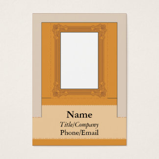 Computer Monitor Picture Frame Business Card