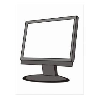 Computer Monitor Postcard