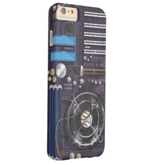 Computer Motherboard CPU Barely There iPhone 6 Plus Case