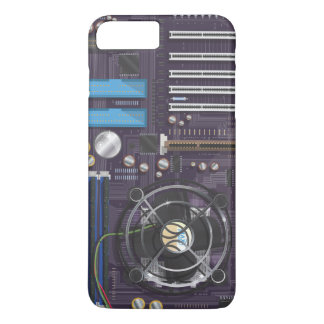 Computer Motherboard CPU iPhone 7 Plus Case