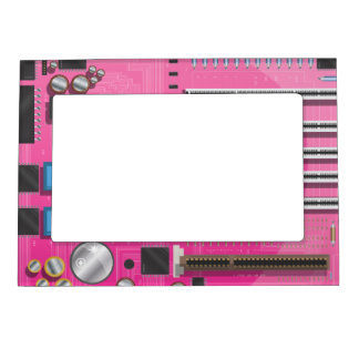 Computer Motherboard Magnetic Photo Frame