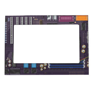 Computer Motherboard Magnetic Picture Frame