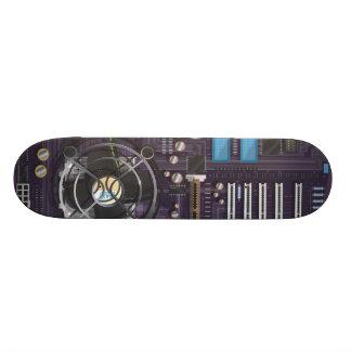 Computer Motherboard Skateboard Decks