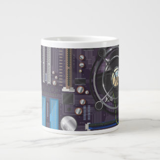 Computer Motherboard Extra Large Mugs