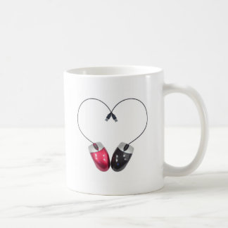 Computer Mouse Heart Mug