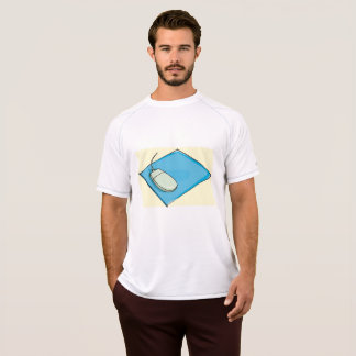 Computer Mouse Mens Active Tee