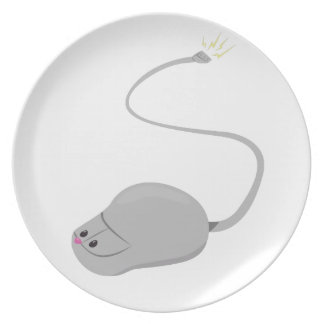 Computer Mouse Plate