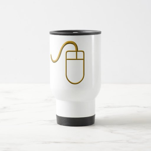Computer Mouse Travel Mug