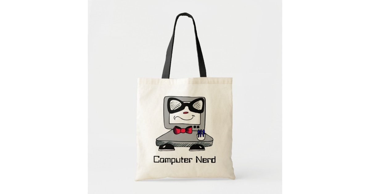 Computer Nerd Geek Tote Bag Zazzle