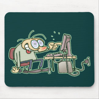 Computer Nerd Mouse Pad