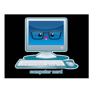 Computer Nerd Postcard