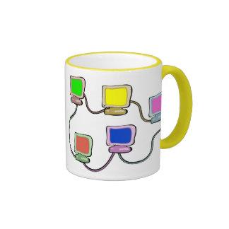 Computer Network Mug