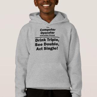computer operator hoodie