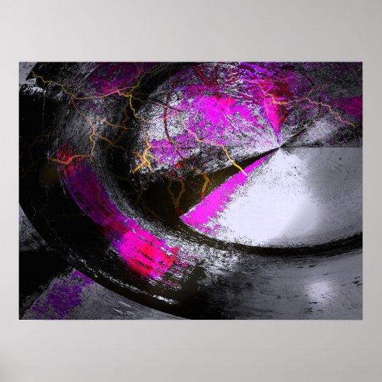 Computer Painting Digital Abstract Poster Print