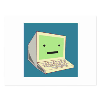 Computer Postcard