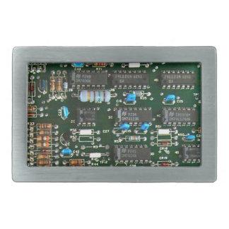 Computer Printed Circuit Board Belt Buckle