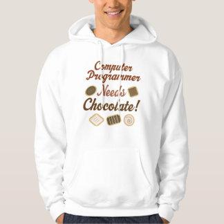 Computer Programmer Chocolate Hoodie