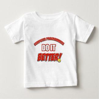 Computer Programmer designs Baby T-Shirt