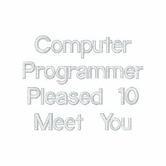 Computer Programmer Hoody