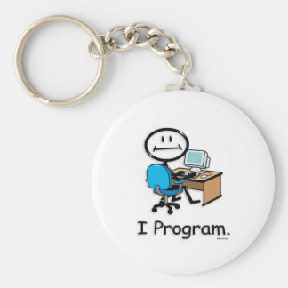 Computer Programmer Key Chain