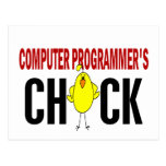 Computer Programmer's  Chick Postcards