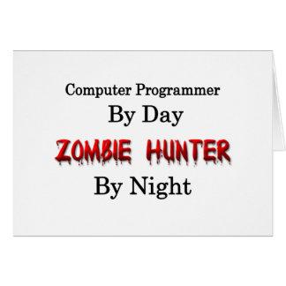 Computer Programmer/Zombie Hunter Card