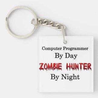 Computer Programmer/Zombie Hunter Keychain