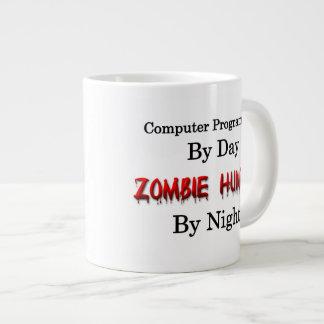 Computer Programmer/Zombie Hunter Large Coffee Mug