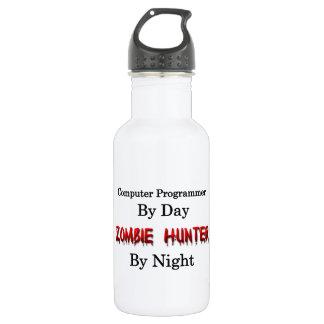 Computer Programmer/Zombie Hunter Water Bottle
