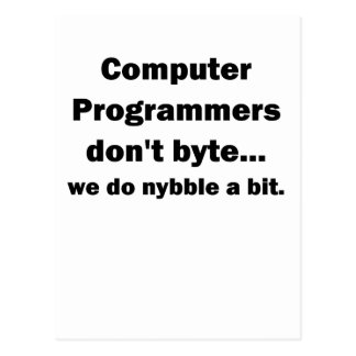 Computer Programmers dont byte.png Postcard