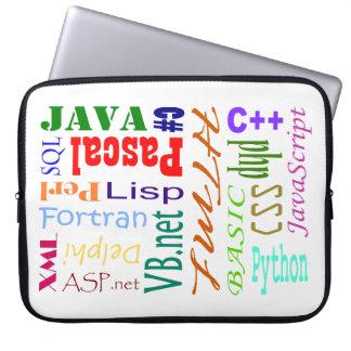 Computer Programmers Laptop Sleeve