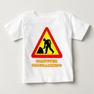 Computer Programming Funny Road Sign Humor Tshirt