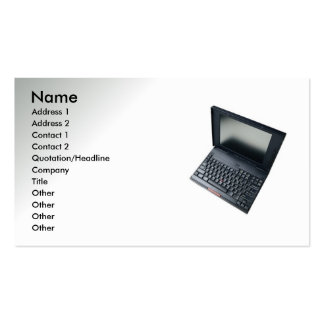 Computer Related Double-Sided Standard Business Cards (Pack Of 100)