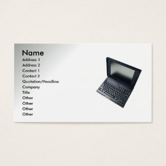 Computer Related Business Card