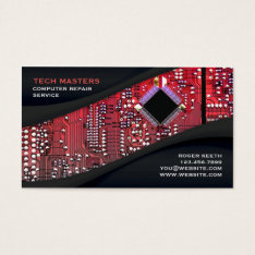 Computer Repair Business Card at Zazzle
