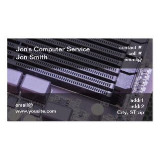 Computer repair Double-Sided standard business cards (Pack of 100)