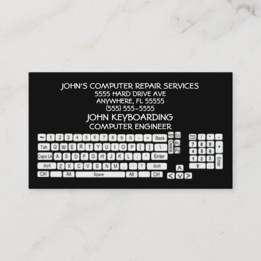 Computer repair business card zazzle computer repair business card colourmoves