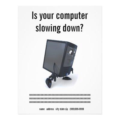 computer repair. Computer Repair Flyer by