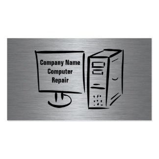 Computer Repair or Tech Support Business Card