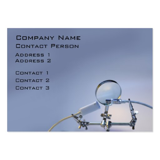 Computer Repairer Profile Card Business Card
