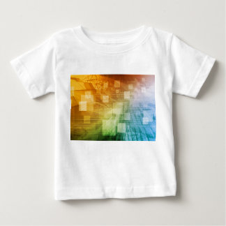 Computer Science as a Abstract Background Art Baby T-Shirt