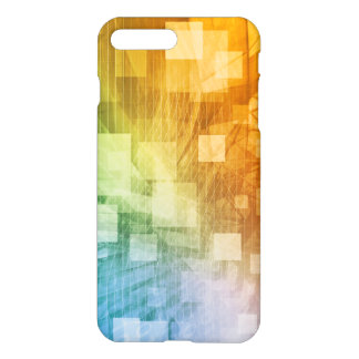 Computer Science as a Abstract Background Art iPhone 7 Plus Case