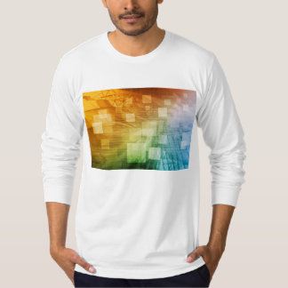 Computer Science as a Abstract Background Art T-Shirt