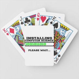 computer science degree bicycle playing cards