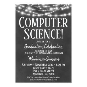 Computer Science Invitations Zazzle